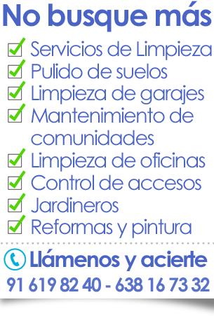limpieza de oficinas en madrid: