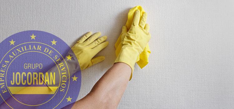 consejos limpieza de paredes
