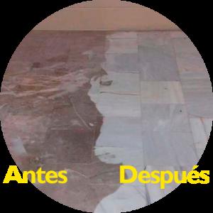 Pulido de suelos - Antes/Después
